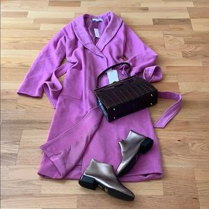 Jackets & Blazers - NWT NY&C plush wool wrap coat XS/S